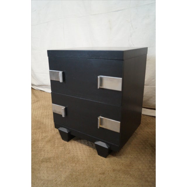 James Mont-Style Nightstands- A Pair - Image 9 of 10