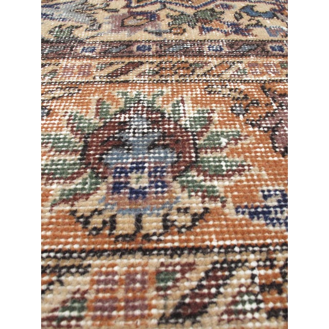 "Vintage Turkish Anatolian Rug - 7'5"" X 10'6"" - Image 2 of 2"