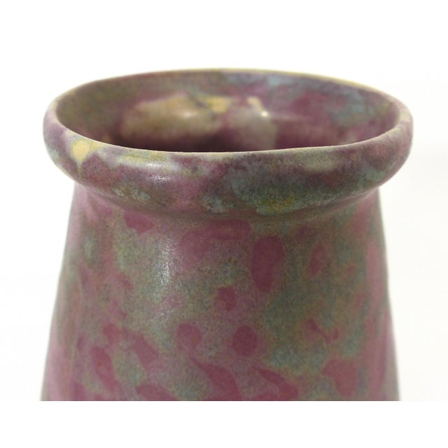 Vintage Burley Winter Conical Vase - Image 4 of 8