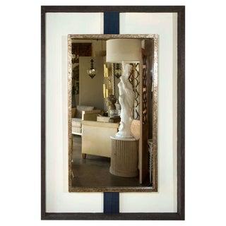 Paul Marra Negative Space Mirror Distressed Finish & Horsehair