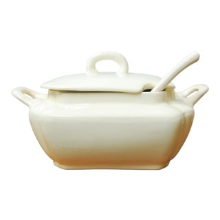 Vintage Porcelain Soup Tureen