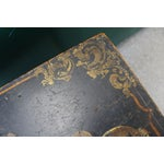 Image of Antique Painted Craftsmen Tool Chest on Stand