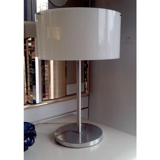 Paul Mayen Table Lamp With White Acrylic Shade - Image 2 of 6