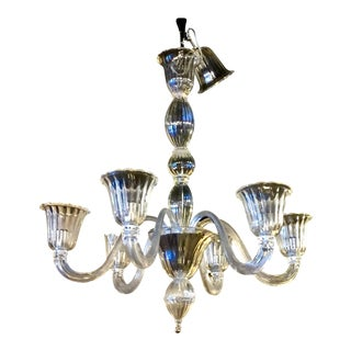 Murano Crystal Clear Chandelier
