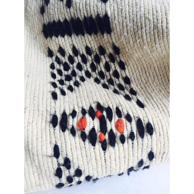 Vintage Native American Rare Blanket Hand Woven - Image 9 of 11