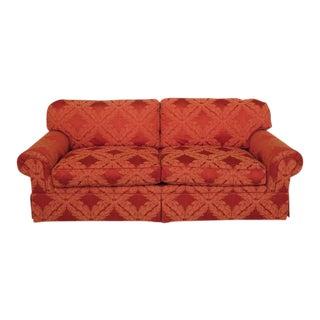 EJ Victor Connoisseur Silk Blend Upholstered Sofa