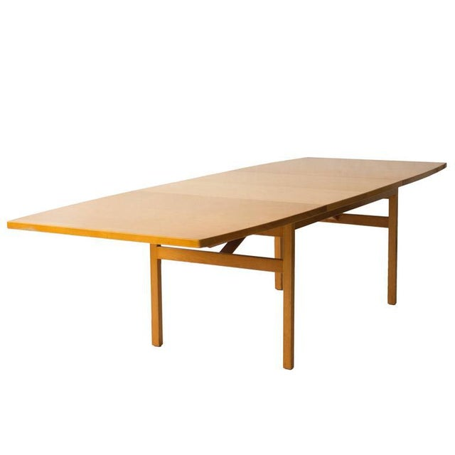 Jens Risom Dining Table with Leaves - Image 5 of 6