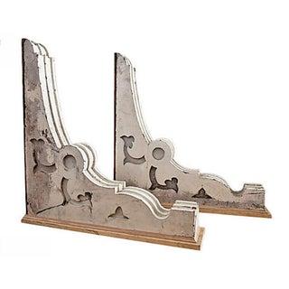 Decorative Wooden Corbels - A Pair