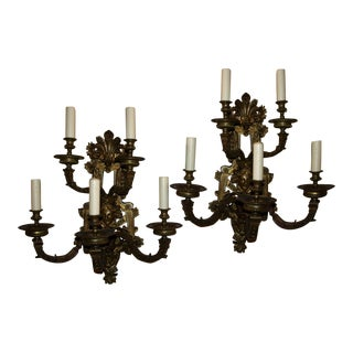 Antique Regence sconces