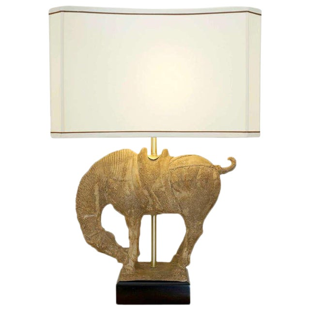 Image of Clay Horse Table Lamp