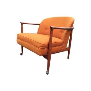 Kofod Larsen for Selig Barrel Back Lounge Chair