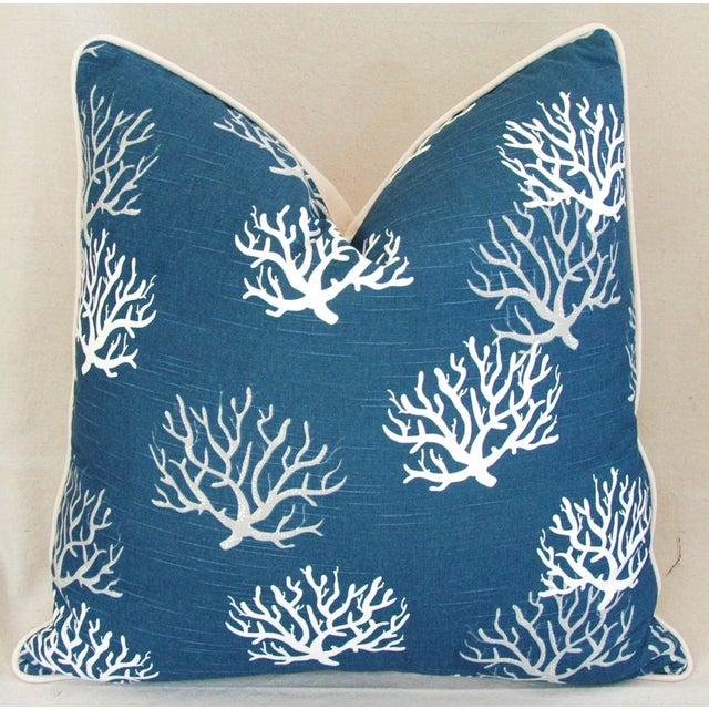 Custom Ocean & Beach Coral Branch Pillows - A Pair - Image 3 of 10