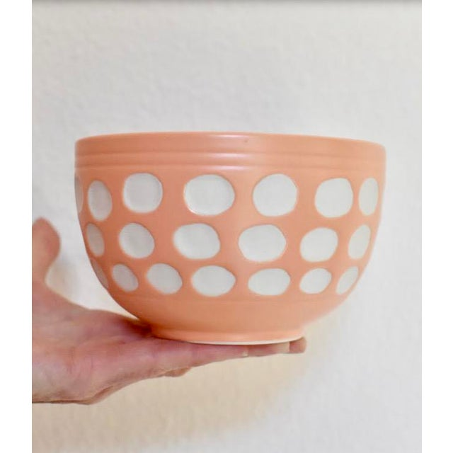 Peach Dot Bowl - Image 4 of 6