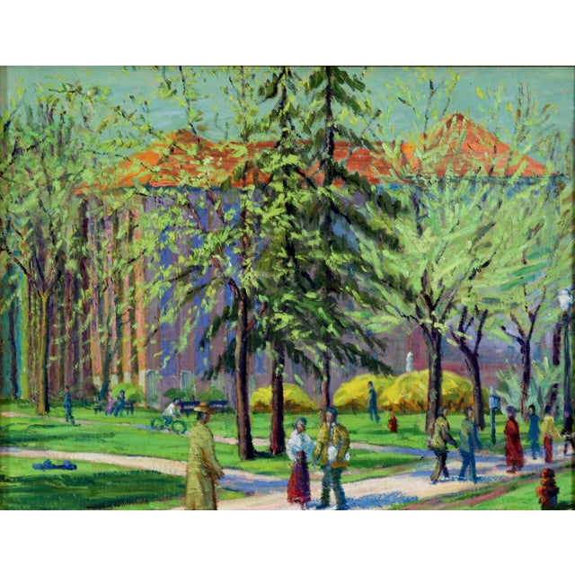 Afternoon In The Park, C. 1940 - Image 2 of 4