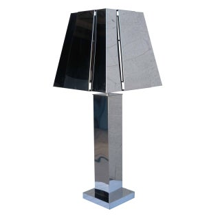 Vintage Curtis Jere Chrome Table Lamp