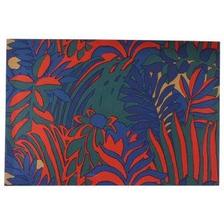 Mid-Century Finland Fabric Art Katsuji Wakisaka