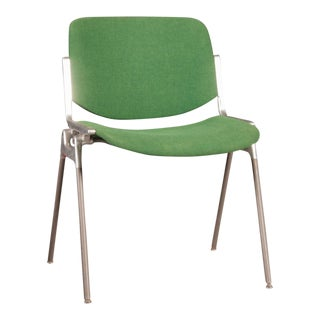 Stackable Green Chair by Giancarlo Piretti for Castelli, 1955