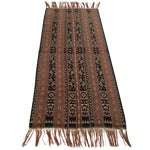 Image of Vintage Ikat Woven Throw