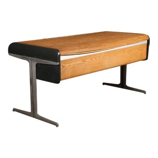 Mid Modern George Nelson Roll Top Action Office Architect's - Writing Desk