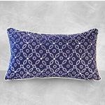 "Image of Handmade ""Indigo Kawung"" Batik Pillow"