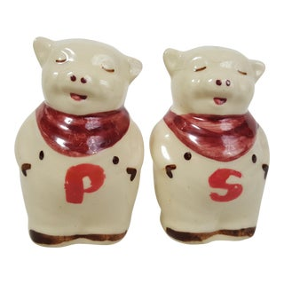 Shawnee Usa Pig Salt & Pepper Shakers