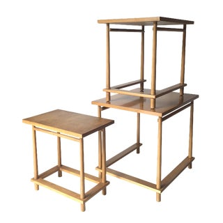 T.H. Robsjohn-Gibbings Nesting Tables - Set of 3