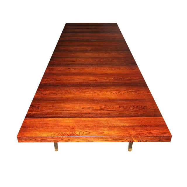 Harvey Probber Brazilian Rosewood Dining Table - Image 4 of 9