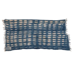 Batik Indigo Throw