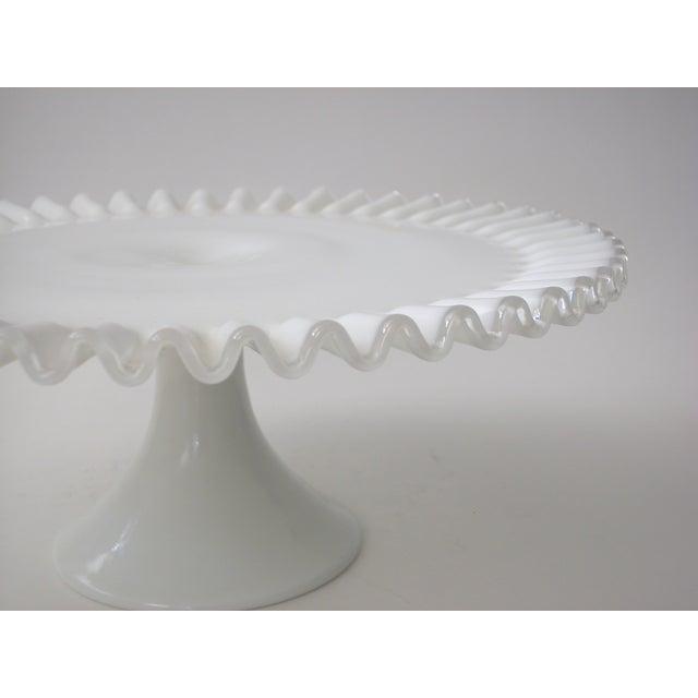 Fenton Silver Crest Cake Stand - Image 4 of 7
