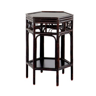 Dark Tortoise Indochine End Table