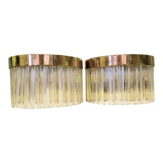 Italian Murano Glass Sconces - A Pair
