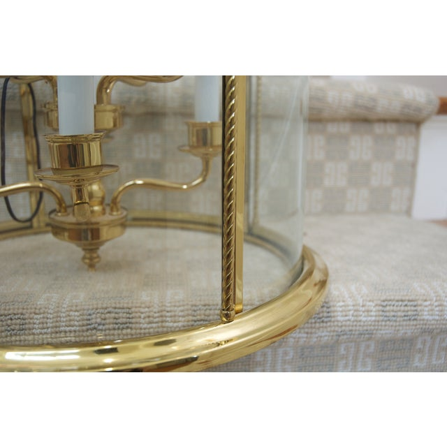 Nulco Lighting Brass Ceiling Lantern - Image 5 of 5