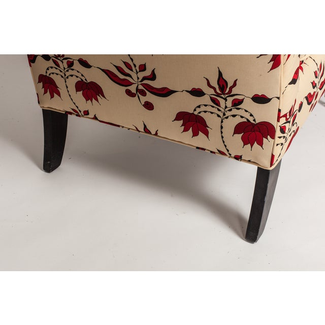 Lulu Dk Upholstered Chairs With Pillows - A Pair - Image 8 of 8