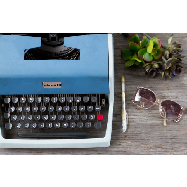 Vintage Underwood 21 Typewriter - Image 3 of 9