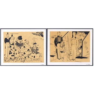 1944 Lithographs - Circus: # 2 & 20 - A Pair