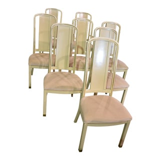 Vintage Milano by Stanley Cream Dining Chairs - Set of 8