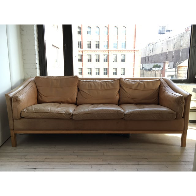 Vintage Danish 3 Seat Sofa From Stouby - Image 2 of 6