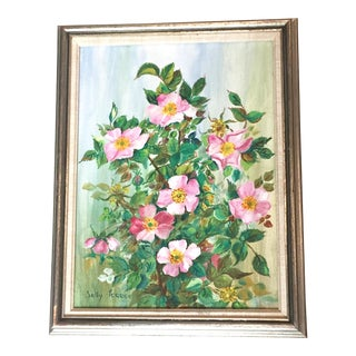 Sally Feree Floral Still Life Painting