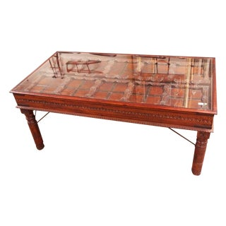 British Colonial Desk From India