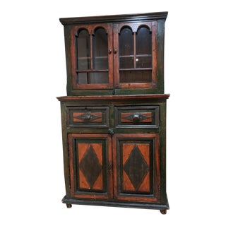 1850s Vintage Russian Cabinet