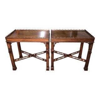 Henredon Side Tables From the Natchez Collection - A Pair