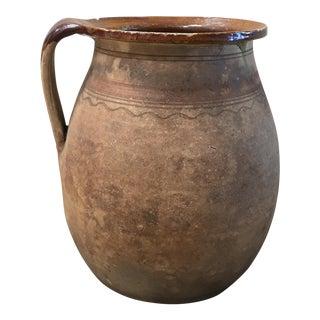 Vintage European Ceramic Pitcher