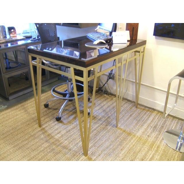 Solid Macassar Top Desk - Image 2 of 3