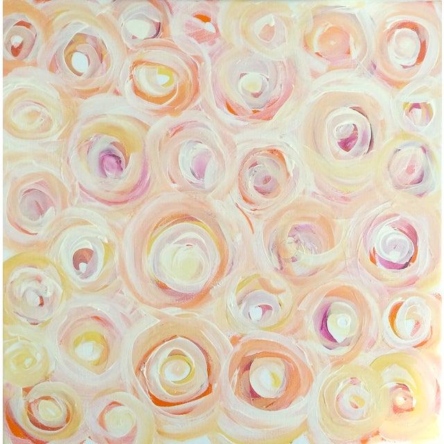 Linnea Heide 'Tearoses' Original Painting - Image 1 of 6