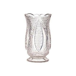 Diamond-Point Designed Glass Celery