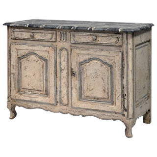 19th Century French Louis XV Style Buffet, Painted