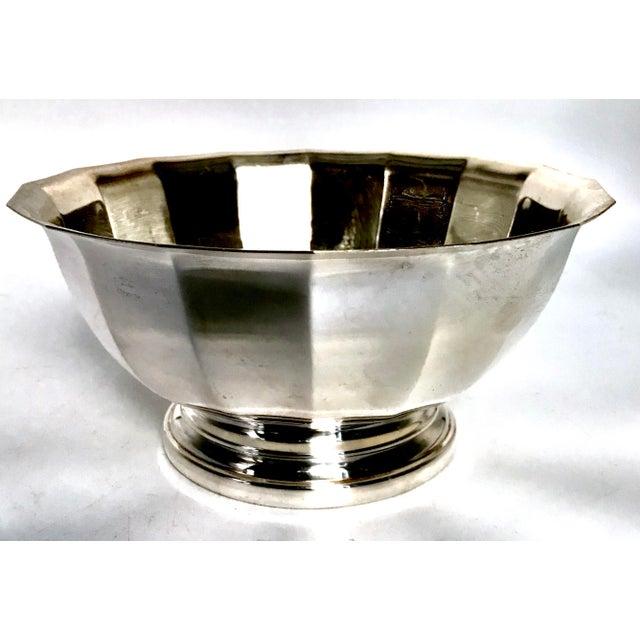 Vintage Gorham Fluted Silve Plate Bowl - Image 2 of 8
