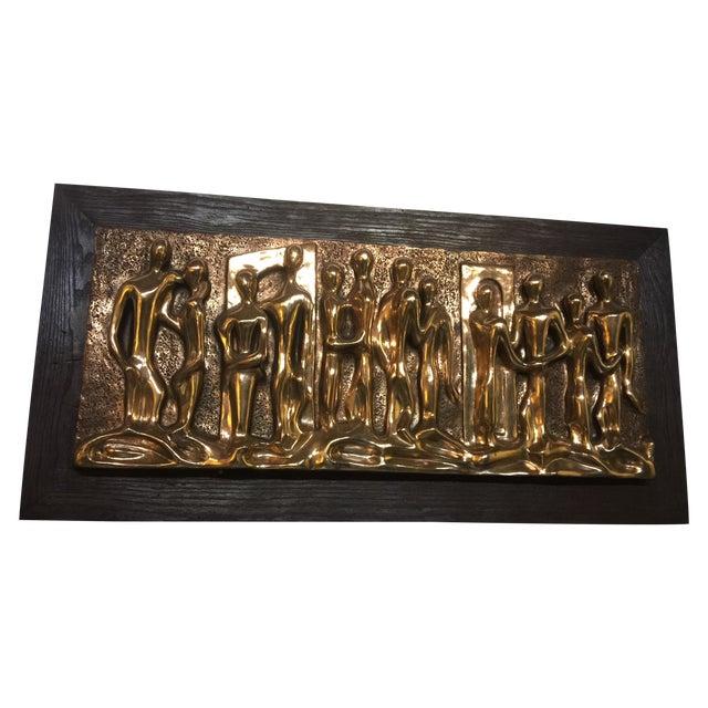 Espada Mid-Century Brutalist Wall Sculpture - Image 1 of 6