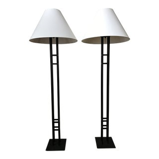 Crate & Barrel Floor Lamps - A Pair