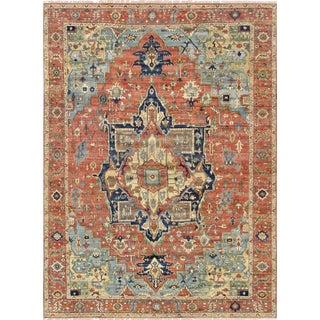 """Pasargad Serapi Lamb's Wool Area Rug - 7' 9"""" X 9'11"""""""
